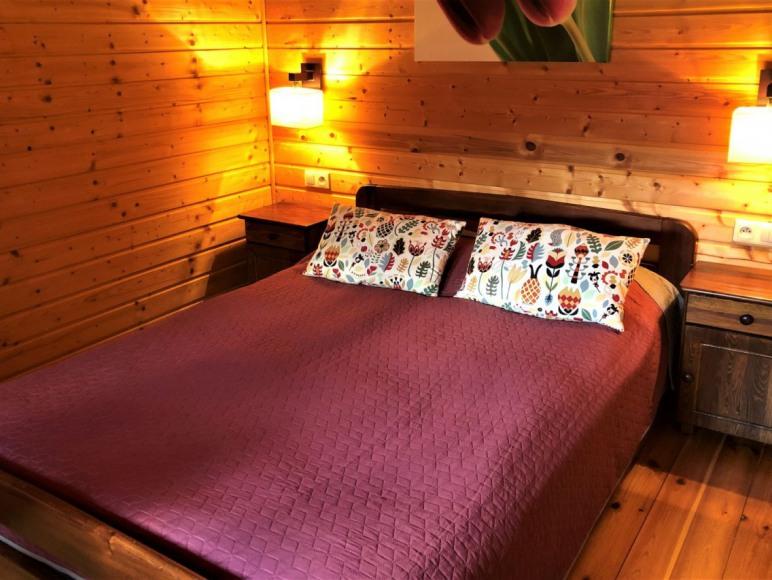 Domek Lux - sypialnia