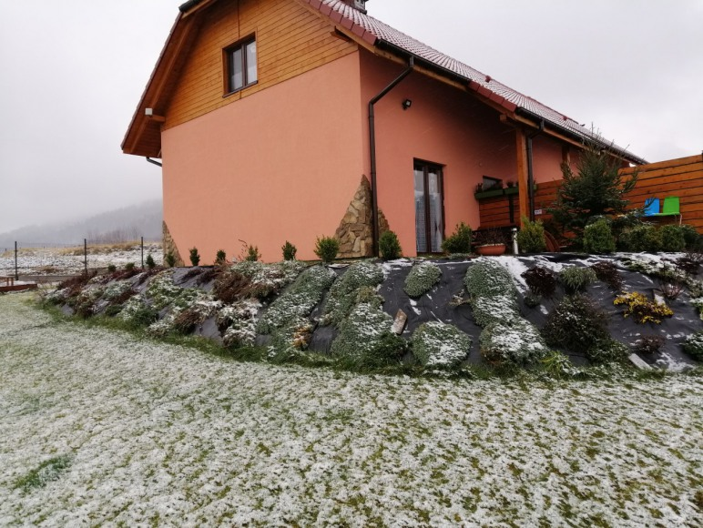 Ranczo zimą