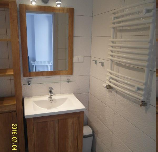 Łazienka - mieszkanie turkusowe