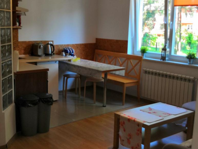 Aneks kuchenny apartament dwupokojowy