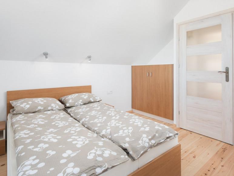 Domki Iwonki sypialnia1
