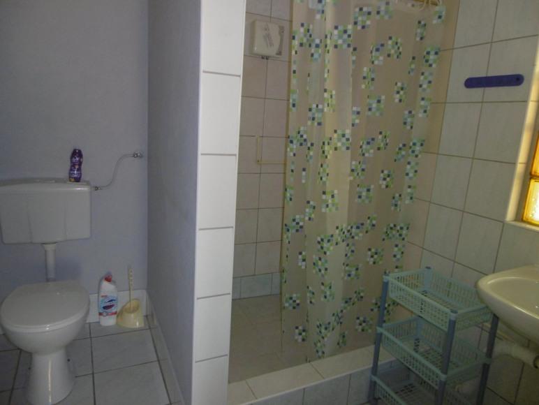 łazienka w domku 4-o osobowym