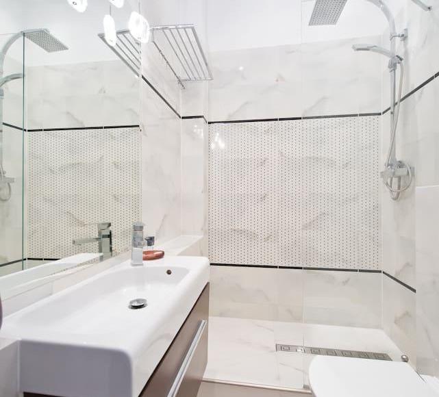 Apartament Piwna łazienka