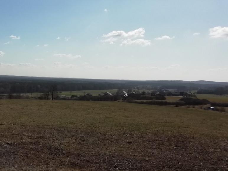 Rzut oka na okolicę ze Starowiejskiej Góry