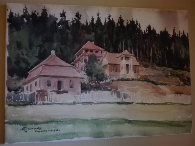 Willa Słoneczna i jej otoczenie w 1923r.