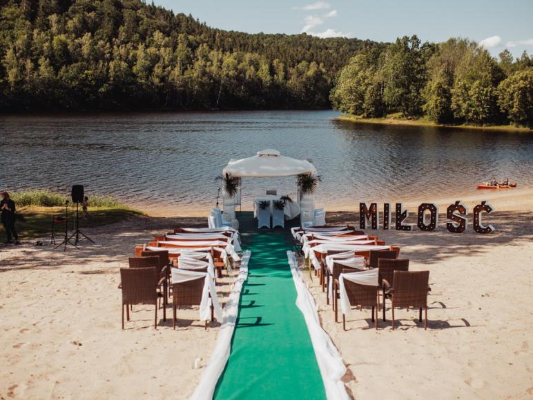 śluby na plaży