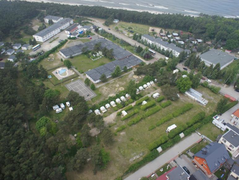 Bury Camping - pole namiotowe bestseller Bałtyku