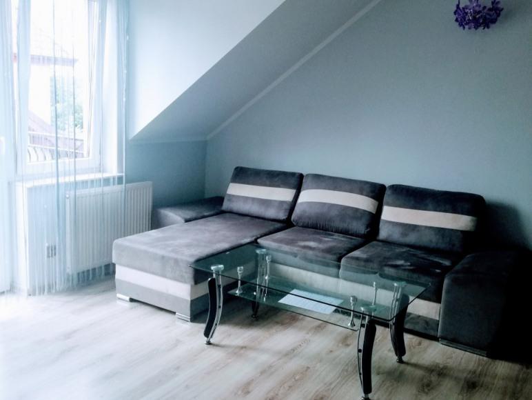 Apartament część wypoczynkowa