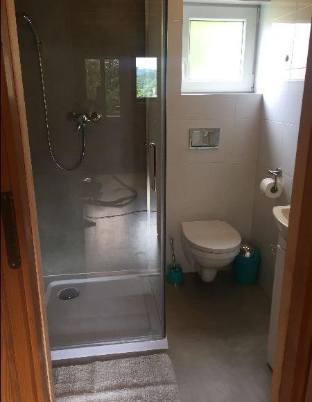 Łazienka w domku nr 1