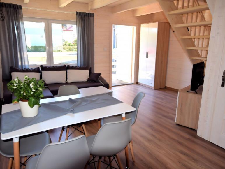 Domek 4-6 osobowy salon