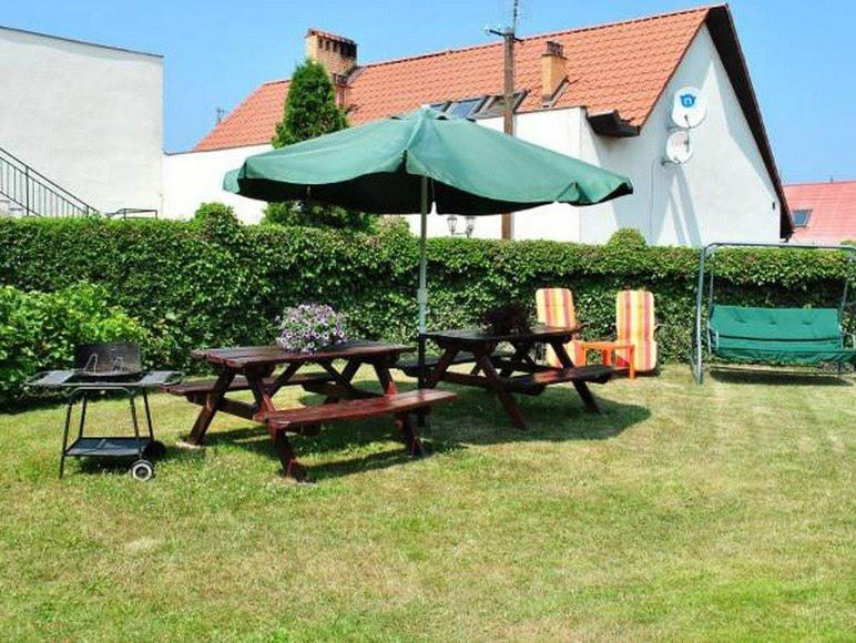 pokoje, kwatery, Władysławowo, wakacje, ogród