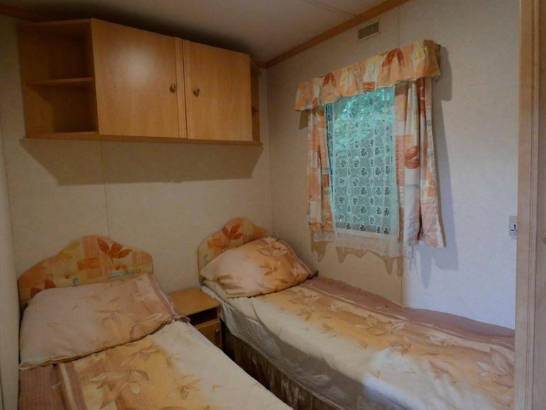 Domek 4 osobowy sypialnia