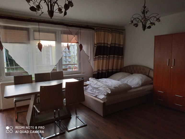 salon 26m z balkonem
