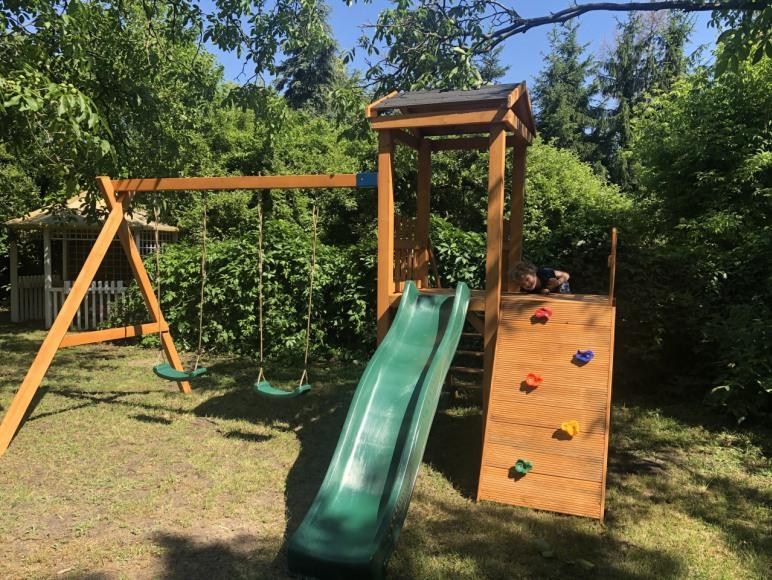 plac zabaw w naszym ogrodzie