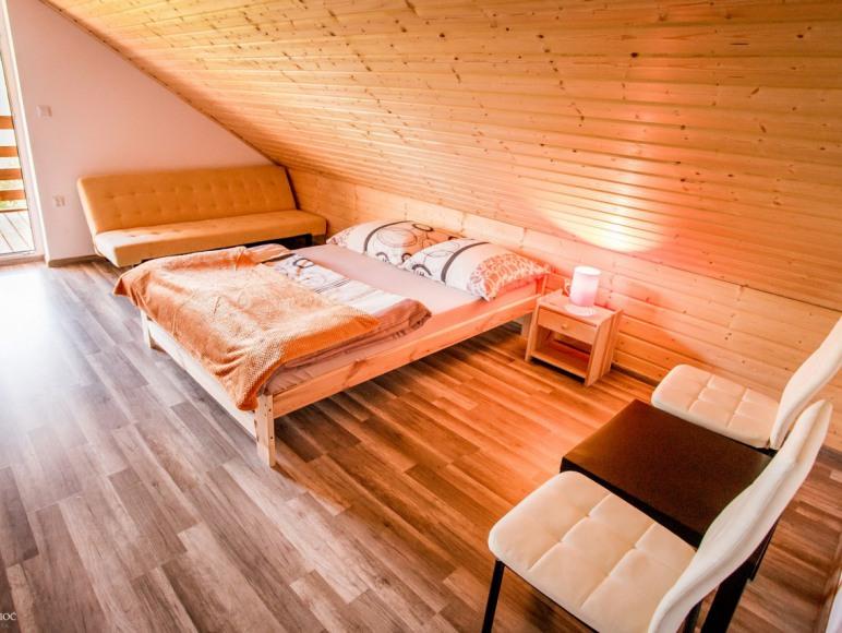 Domki sypialnia