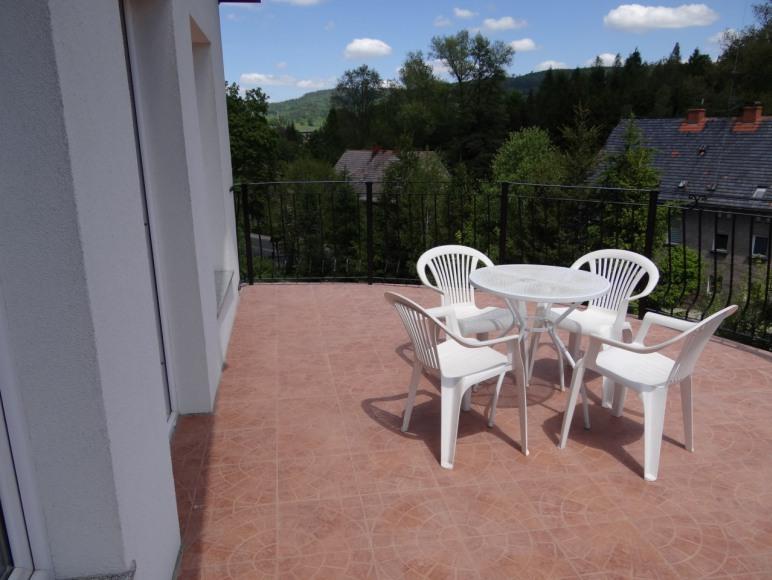 """Pokój """"Puchacz"""" - balkon"""