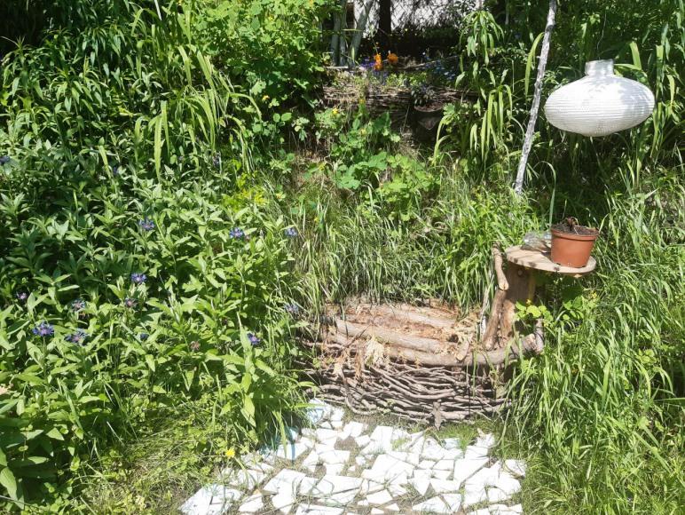 miejsce w ogrodzie