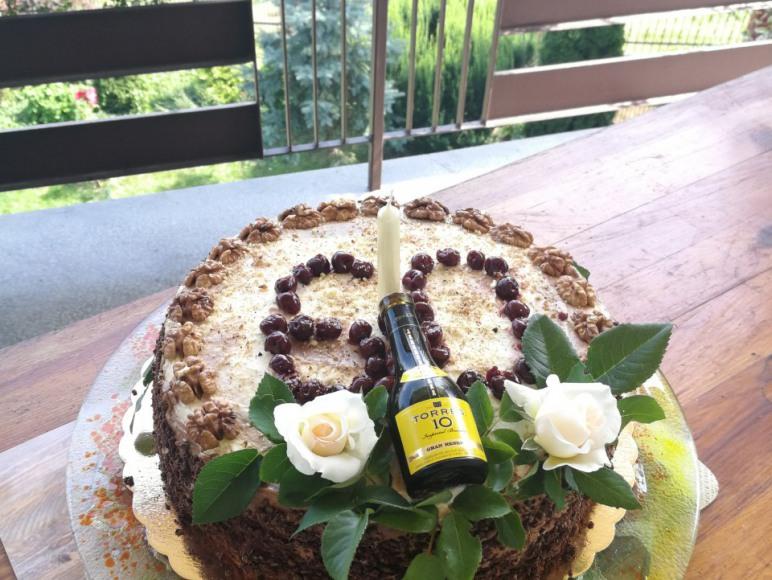 Ciasto domowe - uroczystość rodzinna