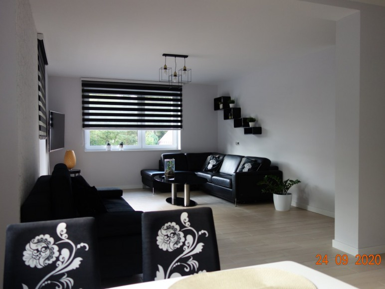 Apartament duży salon