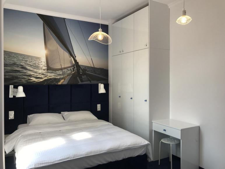 Sypialnia pod zaglami