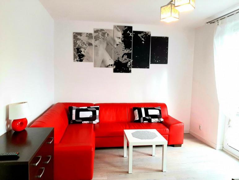 Komfortowy 2 pokojowy Apartament z balkonem w cent