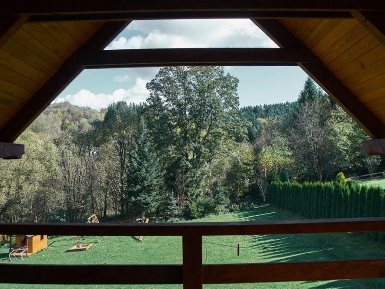 luksusowe domki nad Soliną