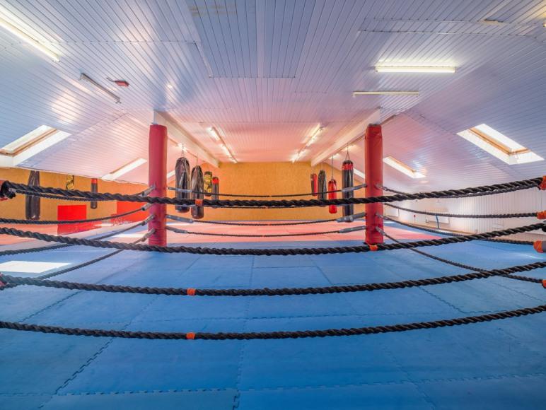 sala do ćwiczeń z ringiem Sangos