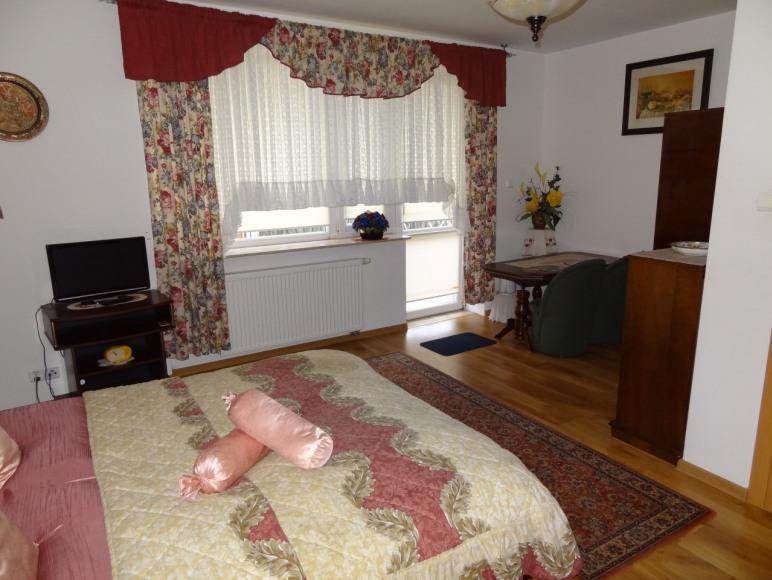pokój Lux nr.6 z balkonem
