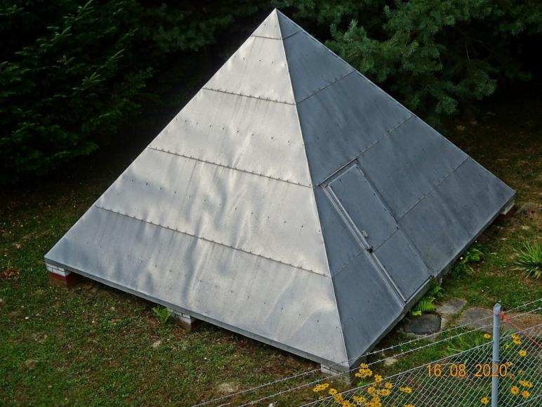Replika W. Piramidy o działaniu leczniczym