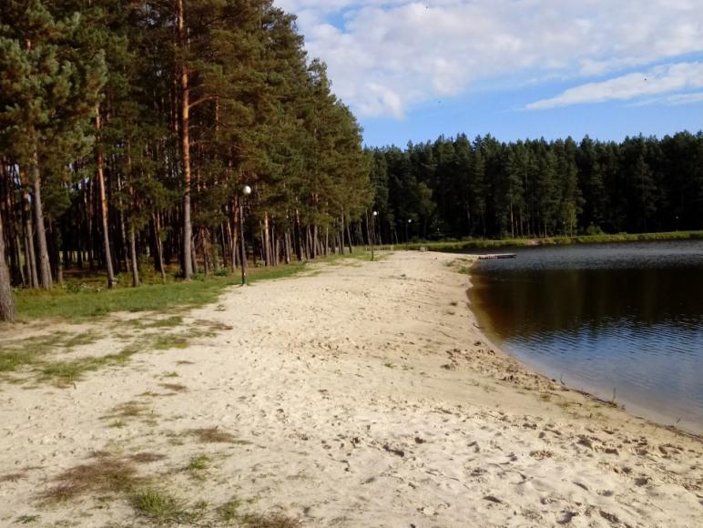 Plaża w Jacni 1km od domku