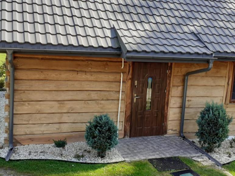 Stara chata w Hamerni na Roztoczu