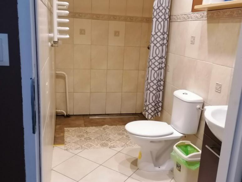 łazienka do dużego pokoju