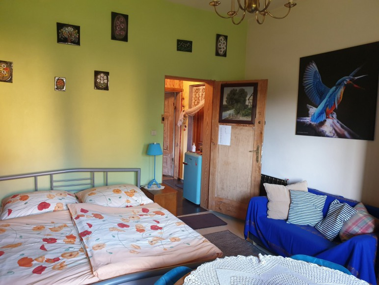 Studio rodzinne 50m2 dla 4 osób: 2 pokoje z łazienką