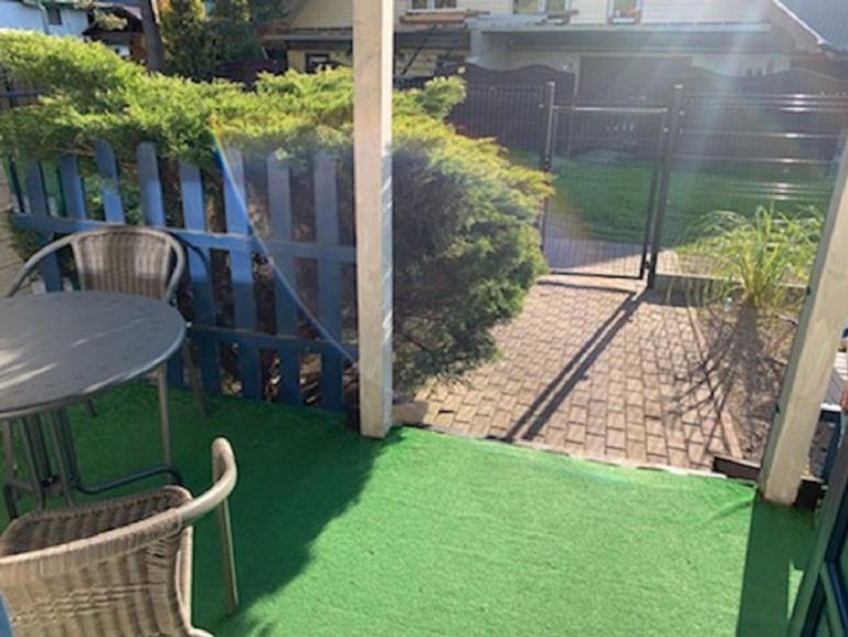 Taras i ogródek