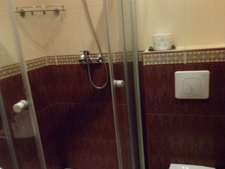 łazienka w pokoju cytrynowym