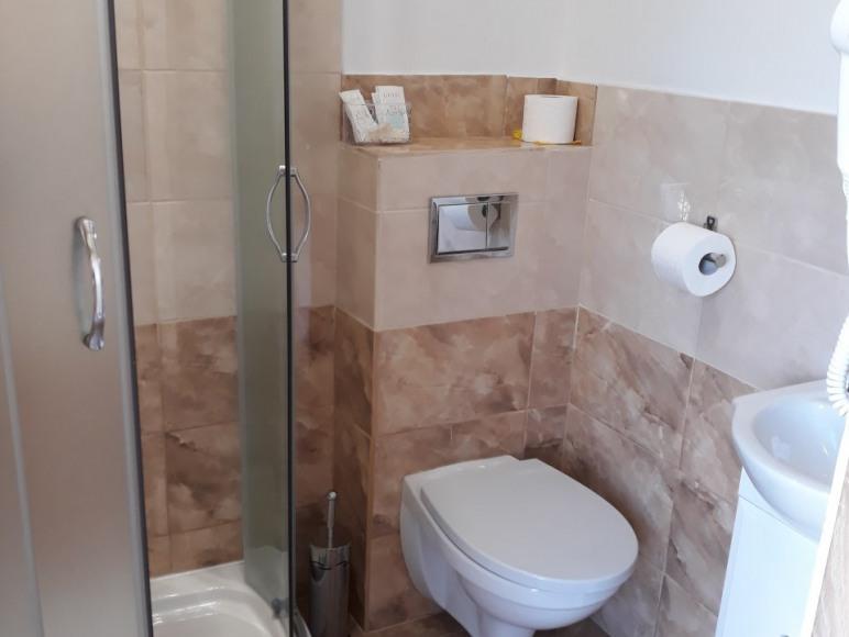 łazienka w pokoju różanym