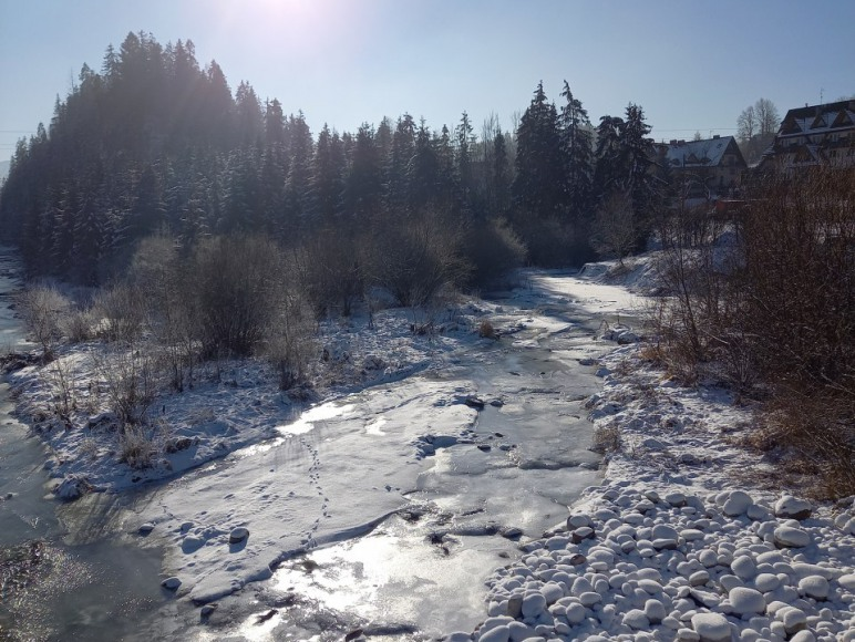 Rzeka Białka 100m od domu