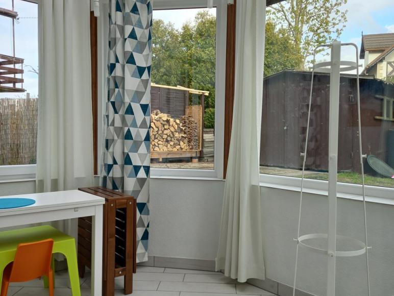 Wnętrze oranżerii - jest częścią mieszkania turkusowego