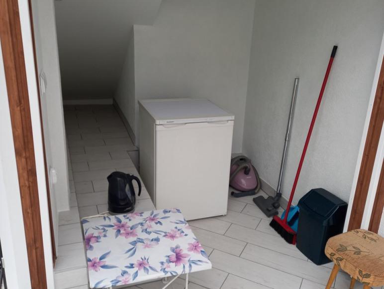 Wnętrze oranżerii -jest częścią mieszkania turkusowego