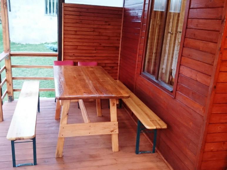 Drewniane Domki Letniskowe nad jeziorem