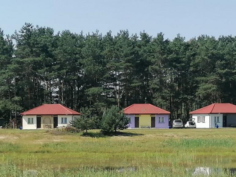 Panorama domków