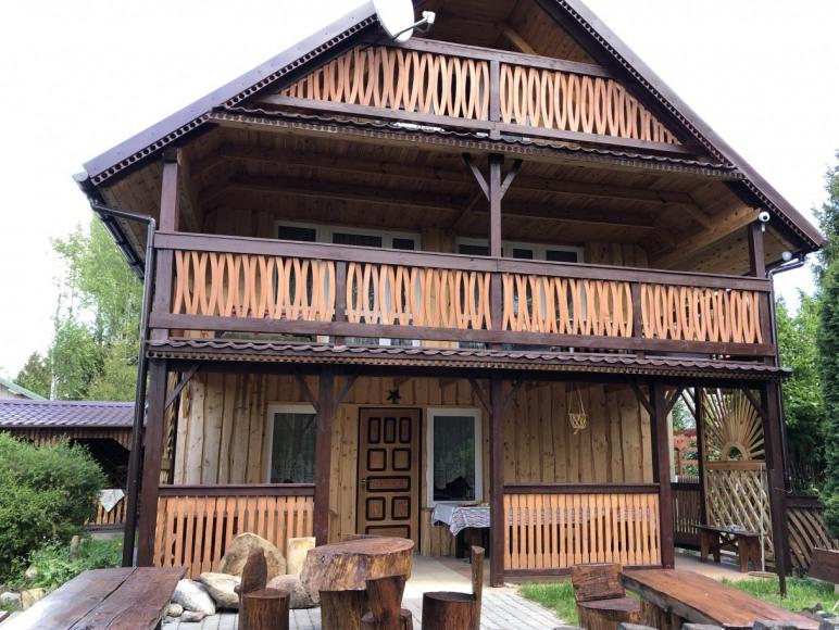 duży domek front