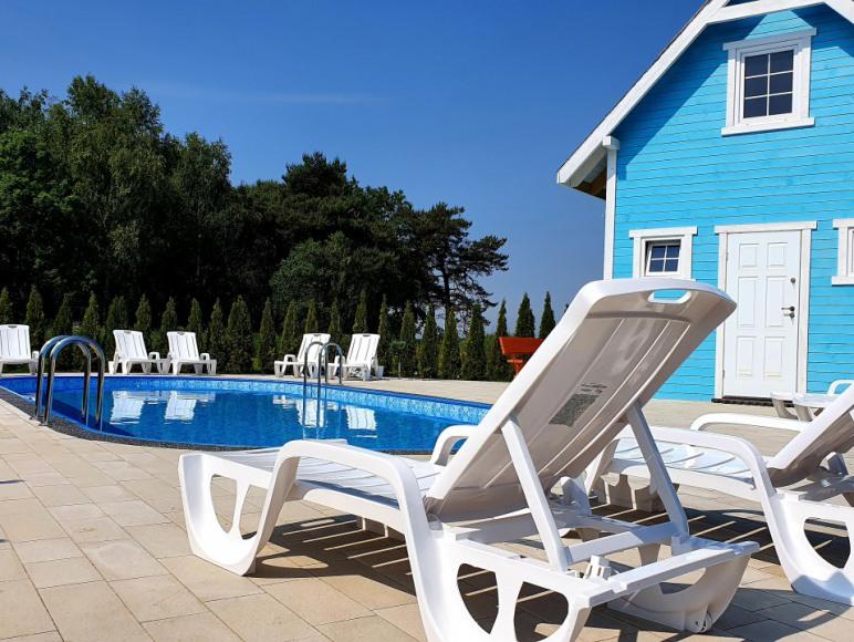 Nowe Domki z podgrzewanym basenem - Łeba