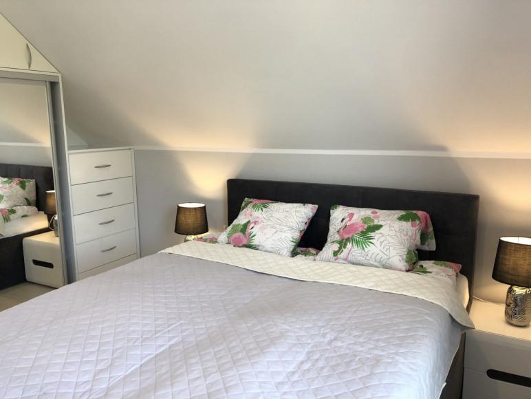 Sypialnia- domki Na wrzosach