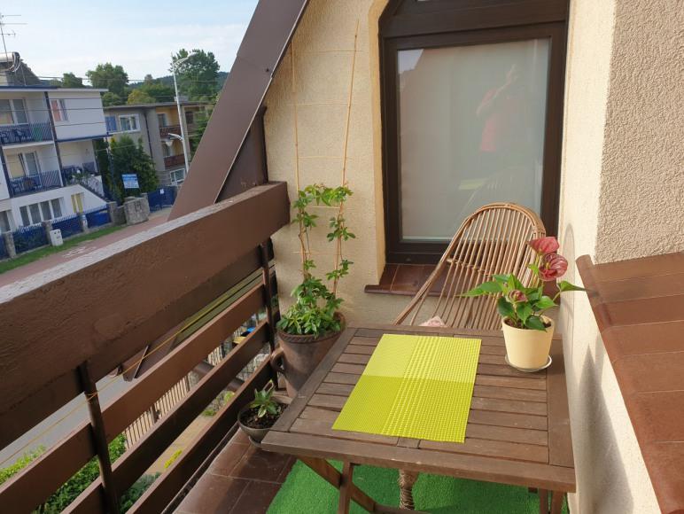 Studio 1 balkon