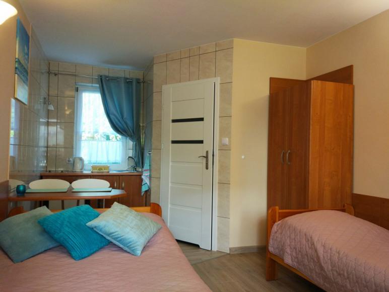 pokój nr 3, 3 - osobowy