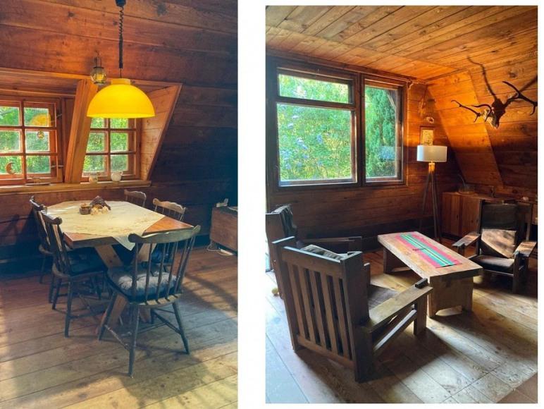 Salon - stół jadalny, fotele