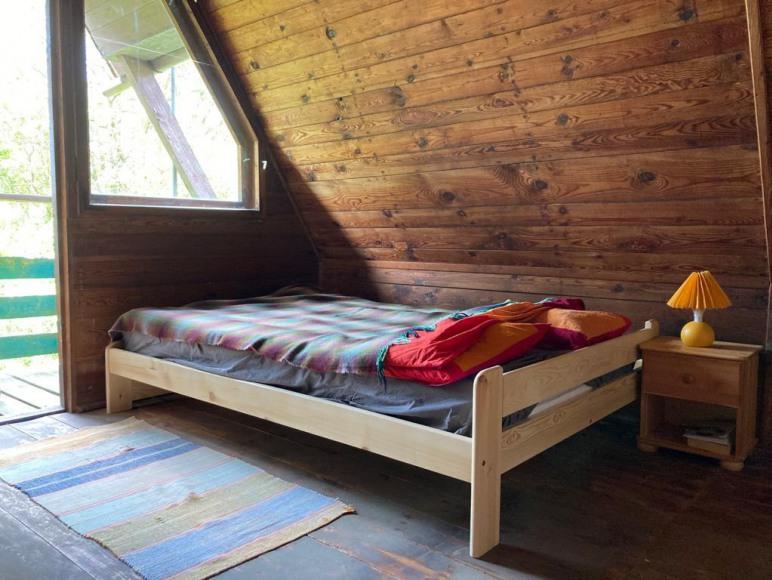 Sypialnia z łożem 140x200