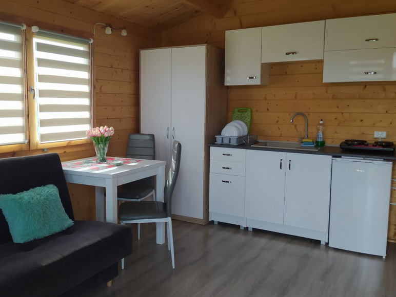 domek drewniany max. 4 os.