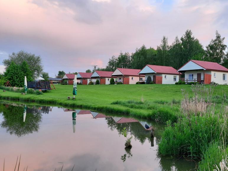 Domki Letniskowe z łowiskiem